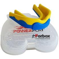 Капа боксерская Power Play 3301 (youth, сине-желтая)