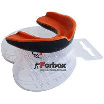 Капа боксерская Power Play 3315 (adult, черно-оранжевая)