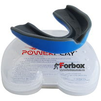 Капа боксерская Power Play 3315 (adult, черно-синяя)