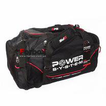 Сумка спортивная Gym Bag Magna Power System (PS-7010, черно-красная)