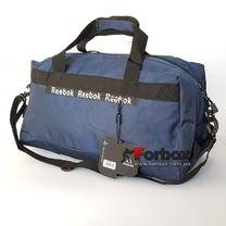 Сумка спортивная для спортзала Reebok 54*32*24см (203-BL, синий)