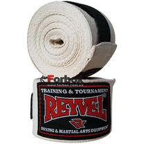 Бинты для бокса REYVEL (0186-wh, белые)