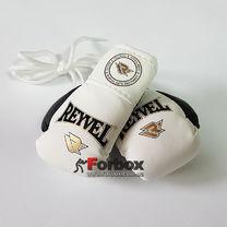Сувенірні рукавиці на шнурках REYVEL (1510-wh, білі)