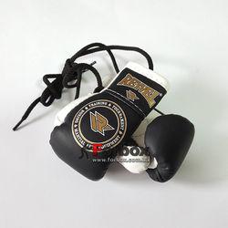 Сувенирные перчатки на шнурках REYVEL (1510-bk,черные)