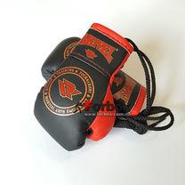 Сувенірні рукавиці на шнурках REYVEL (1510-bkrd, червоно-чорні)