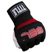 Бинт-перчатки Гелевые TITLE Boxing Assault Wraps (GAGWR, Черный)