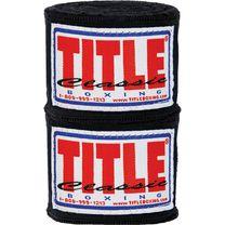 Бинты боксерские Title Classic Traditional weave handwraps (CHW, черные)