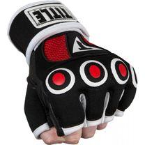 Бинт-перчатки Гелевые TITLE Boxing Rage Fist Wraps ( GRFWG-S-BK-RD, Черно-красный)
