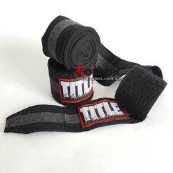 Бинты для бокса Platinum Title (PHW, черные)