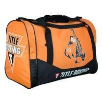 Сумка спортивная Title individual sports bag V2 (ISB2, оранжево-черная)