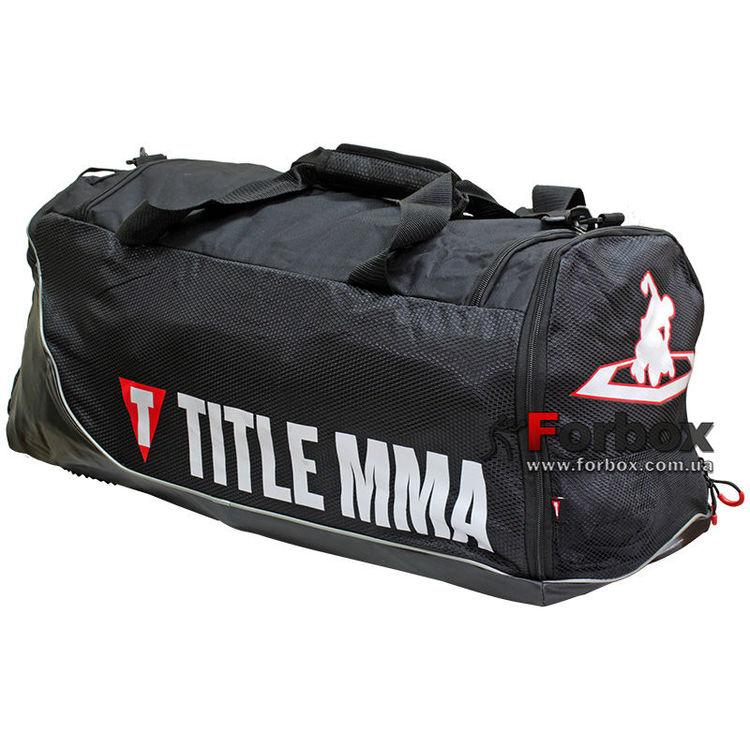 018ceec1609b Сумка спортивная Title MMA Intensity Super Sport Bag (MMBAG16, черная)