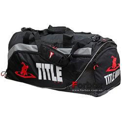 Сумка спортивная Title MMA Intensity Super Sport Bag (MMBAG16, черная)