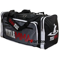 Сумка для спорта Title MMA Mega Sport Bag (MMBAG6, черная)