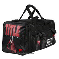 Сумка спортивная TITLE DELUXE GEAR BAG 2.0 (TBAG24, черная)