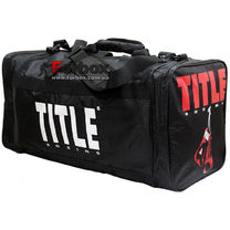 d3d9597e5c69 Сумка спортивная Title Deluxe gear bag (TBAG4, черная)