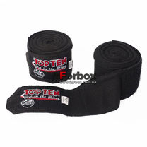 Бинти боксерські Top Ten еластичні (TTBHW-bk, чорний)
