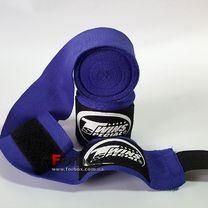 Бинти боксерські Twins еластичні (CH-5-BU, синій)