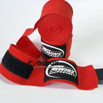 Бинты боксерские Twins эластичные (CH-5-RD, красный)