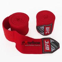 Бинты боксерские эластичные UFC Contender (UHK-69770, красный)
