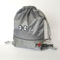 Спортивна Сумка-рюкзак Under Armour 44*33 см з поліестеру (GA-6984-GR, сіра)