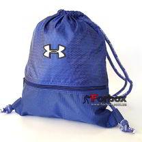 Спортивна Сумка-рюкзак Under Armour 44*33 см з поліестеру (GA-6984-BL, синій)