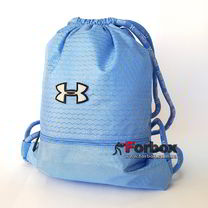 Спортивна Сумка-рюкзак Under Armour 44*33 см з поліестеру (GA-6984-LBL, голуба)