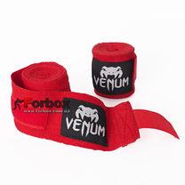 Бинти боксерські Venum еластичні (VN-0430, червоний)