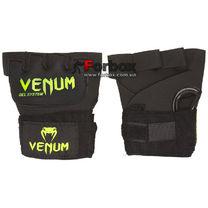Гелевые быстрые бинты (перчатки) Venum (VL-5798, черные)