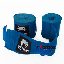 Бинты боксерские Venum эластичные (VN-023, синий)