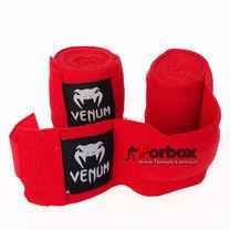 Бинты боксерские Venum эластичные (VN-023, красный)