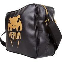 Спортивная сумка Town Venum черная с золотом
