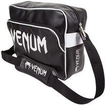 Спортивна сумка Town Venum чорна зі сріблом