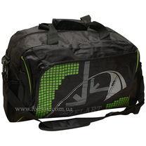 Сумка спортивная Zelart Duffle Bag (GZ-1055, черно-зеленая)