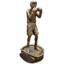 УЦЕНКА Статуэтка наградная спортивная Боксер (C-1727, золотая)