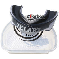 Капа двухкомпонентная Zelart взрослая в коробочке (BO-3535-bk, черная)
