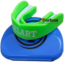 Капа одночелюстная Zelart взрослая в коробочке (BO-3602, зеленая)