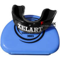 Капа одностороння Zelart підліткова в коробочці (BO-3603, чорна)