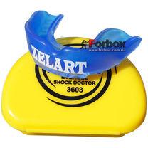 Капа одностороння Zelart підліткова в коробочці (BO-3603, синя)
