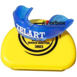 Капа односторонняя Zelart подростковая в коробочке (BO-3603, синяя)