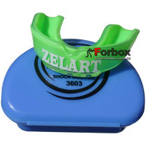 Капа одностороння Zelart підліткова в коробочці (BO-3603, зелена)