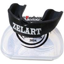 Капа односторонняя взрослая Zelart в коробочке (BO-3604-L, черная)
