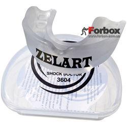 Капа одностороння доросла Zelart в коробочці (BO-3604, прозора)