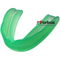 Капа одночелюстная без коробочки Zelart взрослая (BO-4372, зеленая)