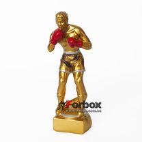Статуэтка (фигурка) наградная Боксер 7см*6см*20см (HX4588-B5, золотая)