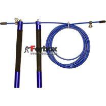 Скакалка скоростная Zelart профессиональная со стальным тросом (FI-5345, синяя)