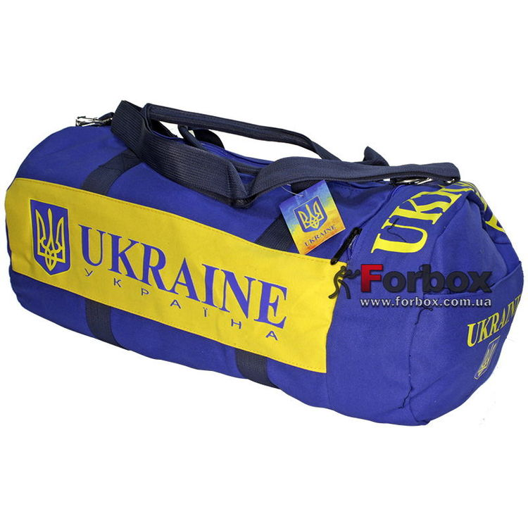 4de4c22a58b9 Сумка Zelart для тренировок с национальной украинской символикой (GA-5633-5,  сине