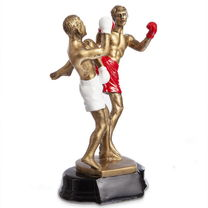 Статуэтка наградная спортивная Тайский бокс (HX3131-A8)