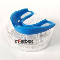Капа боксерская односторонняя в футляре (BO-6594, синяя)