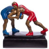 Статуэтка наградная спортивная Борьба (C-3203-А11)
