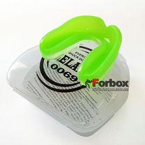 Капа одностороння двухкомпонентна Zelart дитяча в коробочці (BO-0069-S, зелений)